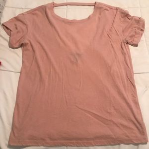 Forever 21 t-shirt with open back